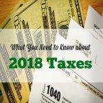 IRS 2018, 2018 taxes, 2018 IRS taxes