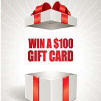 Win a $100 gift card just for giving us a few minutes of your time.