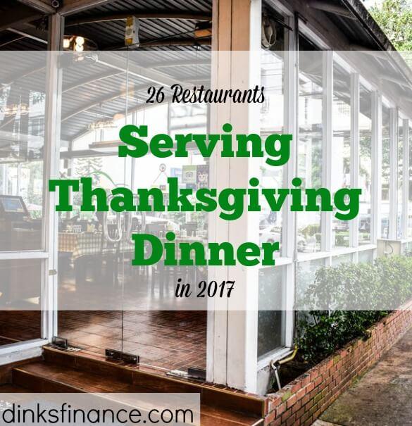 Thanksgiving 2017, restaurants open on Thanksgiving, Thanksgiving food
