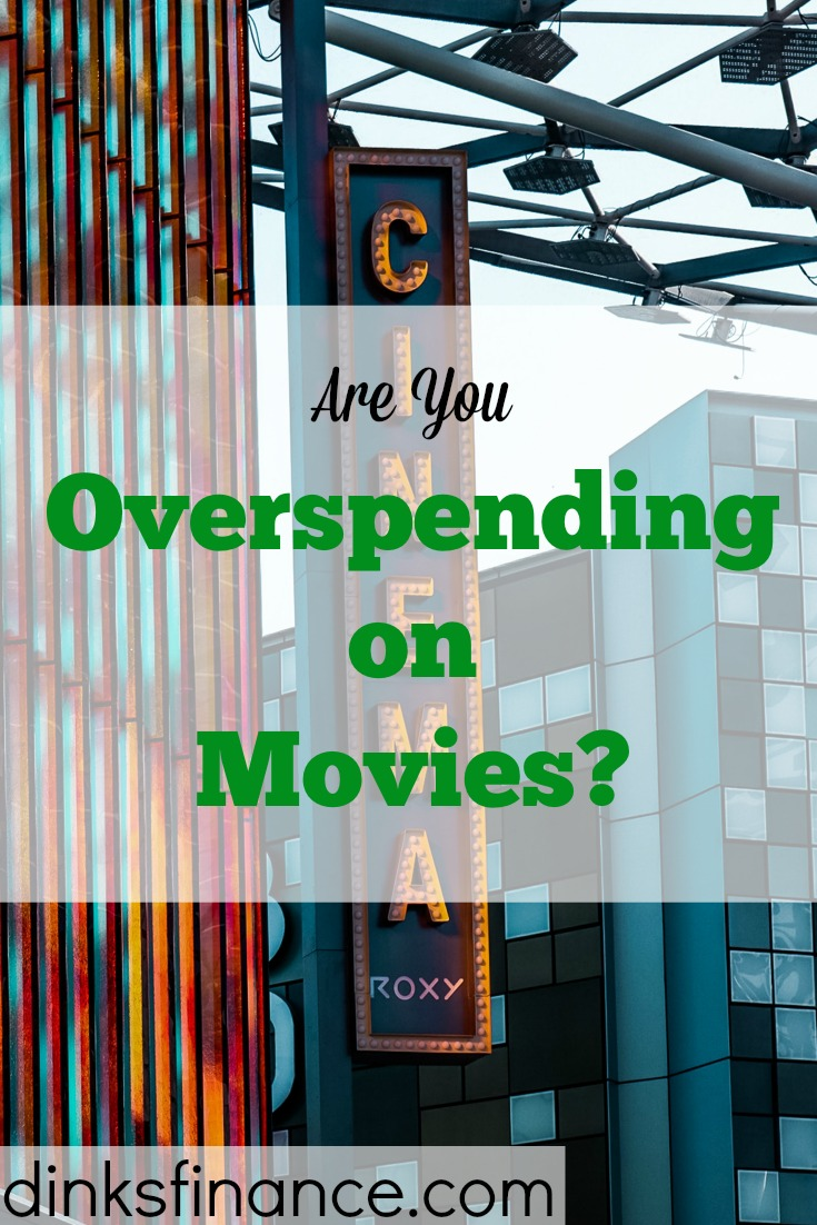saving money on movies, spending money on movies, spending on movies