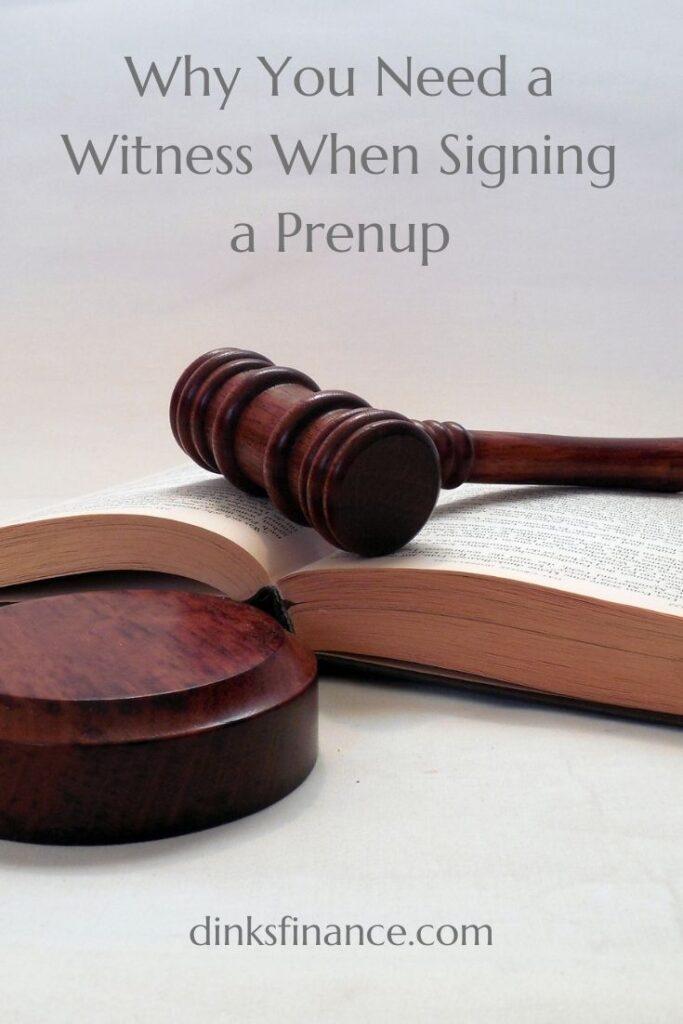 Prenup Witness