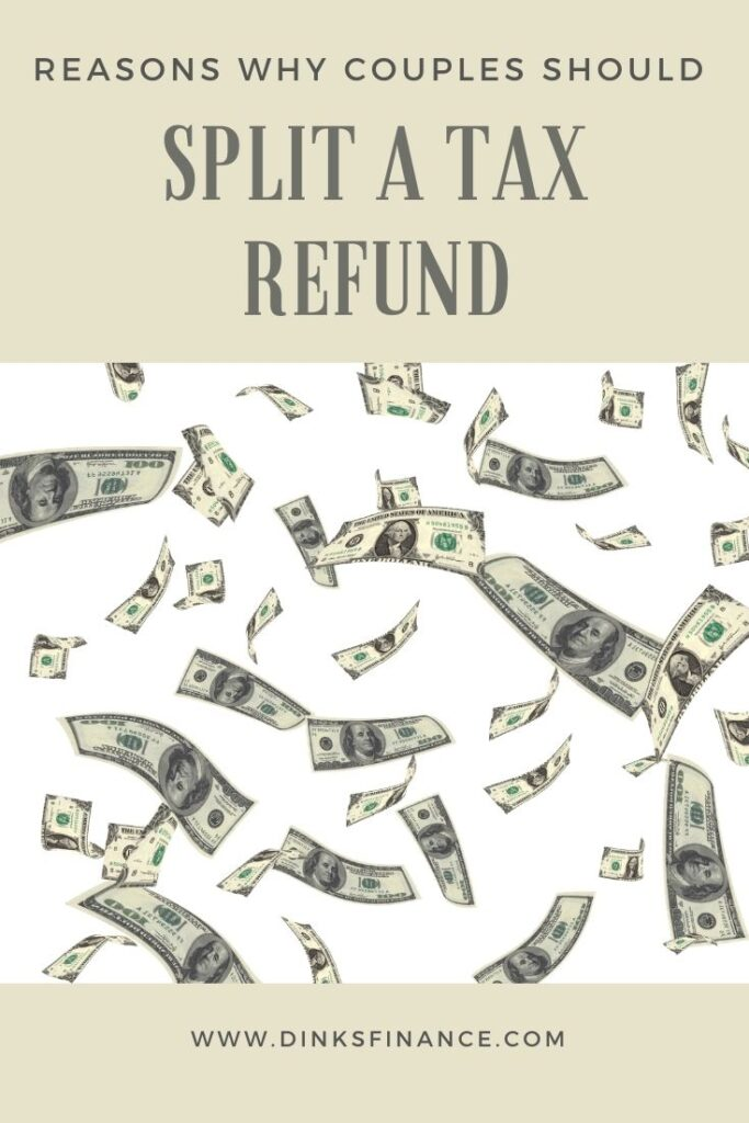 Why Couples Should Split a Tax Refund