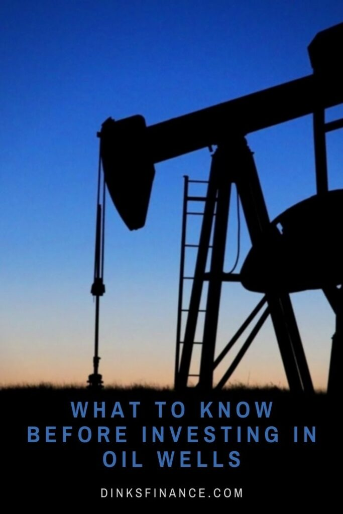 Investing in Oil Wells