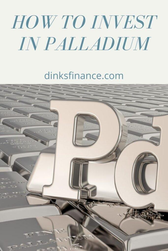 How to Invest in Palladium