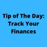 tip of the day track your finances